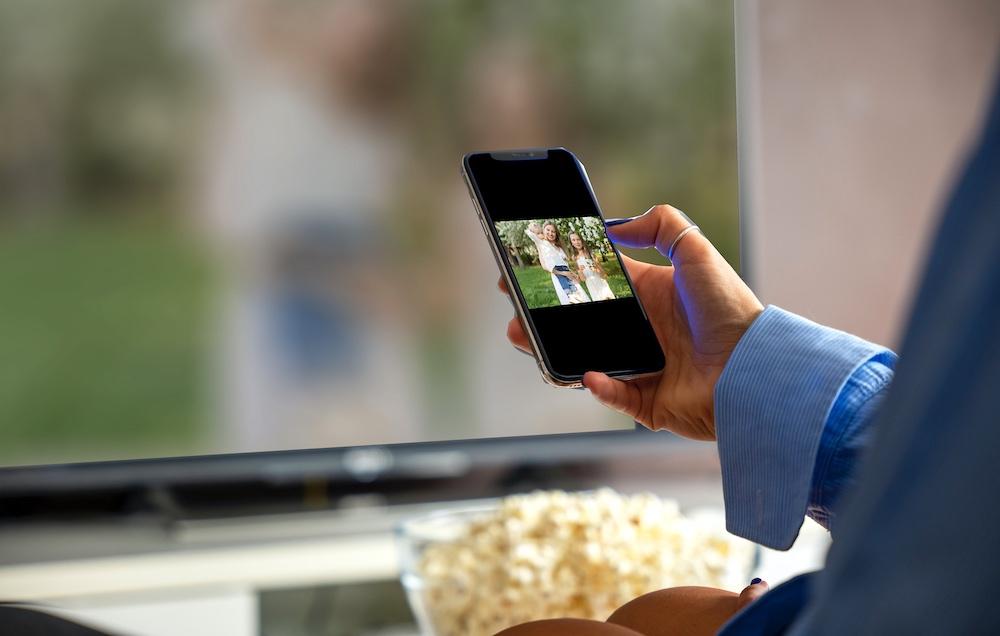 smart tv app picture